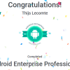 Android Enterprise Certifications